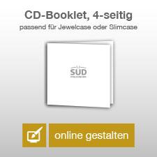 CD-Booklet 4-seitig online gestalten