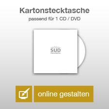 CD-Kartonstecktaschen online gestalten