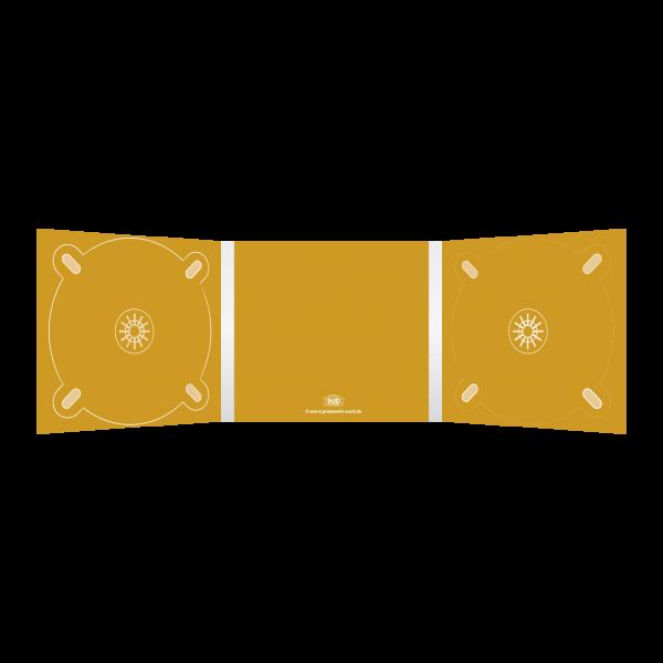 Digipack 6-seitig | 2 CD-Trays (links & rechts) für CD oder DVD