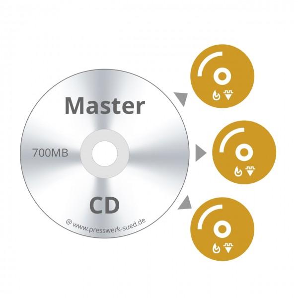 CD Duplikation / Vervielfältigung bis 700 MB