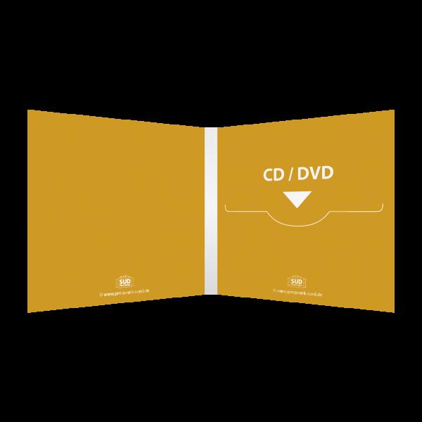 Digifile 4-seitig | 1 CD-Schlitz rechts (für 1 CD oder DVD)