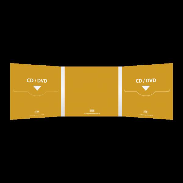 Digifile 6-seitig | 2 CD Schlitz links & rechts