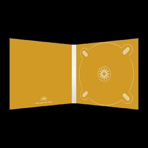 Digipack 4-seitig | 1 CD-Tray (rechts) für CD oder DVD
