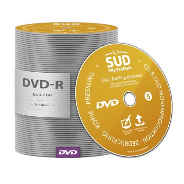 DVD Rohling bedruckt